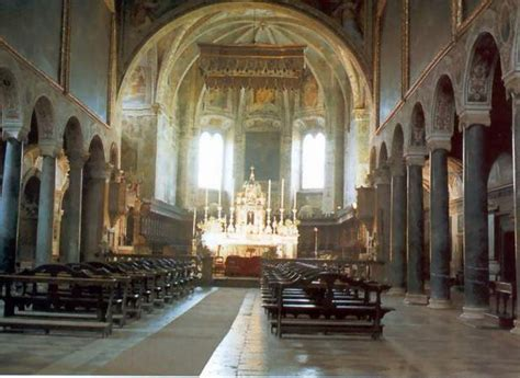 basilica san pietro interno perugia interno basilica san pietro
