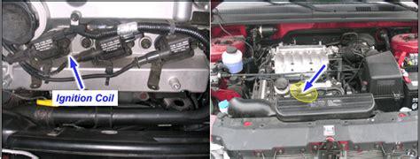 2004 Kia Sedona Engine P0350 2004 Kia Sedona Ignition Coil Primary Secondary