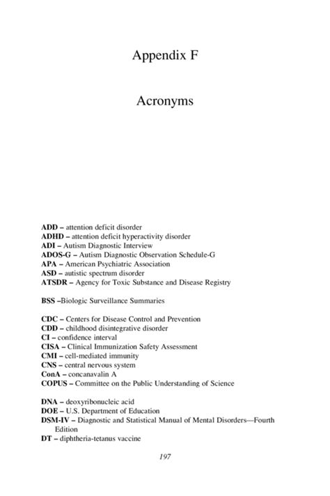 apa style appendix format pin appendix exle in apa format on pinterest