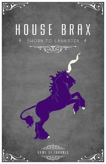 of of thrones and purple unicorn on