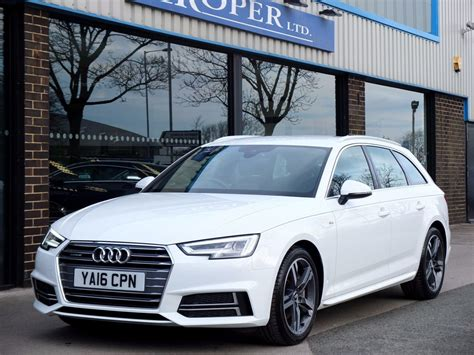 Audi A4 Avant Quattro S Line by Used Audi A4 Avant 2 0 Tdi Quattro S Line S Tronic 190ps