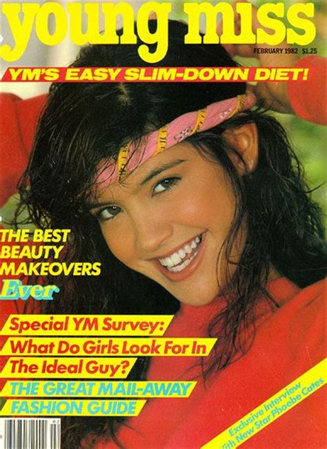 Miss Ym my was a subscriber so i got to revel secondhand in all that early 80s fashion