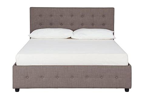 tufted bed with storage dhp cambridge upholstered bed with storage button tufted
