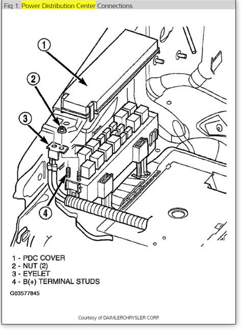 2004 jeep grand wiring diagram power windows