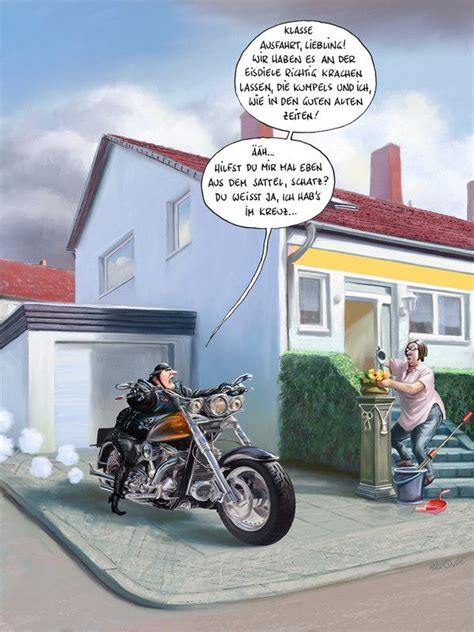 Motorrad Spr Che Witzig by Die Besten 25 Biker Spr 252 Che Ideen Auf Biker