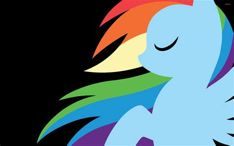cool my rainbow dash 2 wallpaper cartoon wallpapers 7714