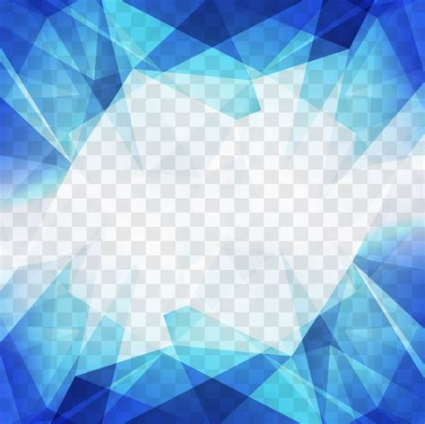 background of white and blue triangles vector free download blue polygonal shapes for a geometric background vector