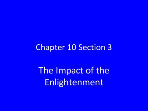 section 3 a 10 chapter 10 section 3 powerpoint