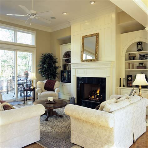 Family Room Cabinets by Built In Cabinets Around Fireplace Family Room Traditional