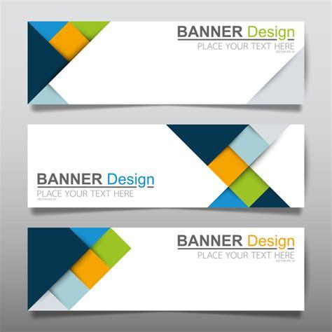 design print banner llc vector set of modern banners template design 03 vector