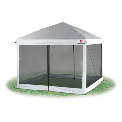 swiss smart home 10x10 canopy screen walls insect screen room mesh walls for e z up 10x10 pop up tent tie walls
