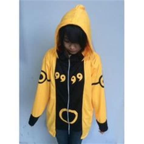 yellow bijuu hoodie sweater anime clothing