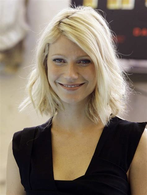 long bob hairstyles gwyneth paltrow 15 stylish bob designs for the season pretty designs