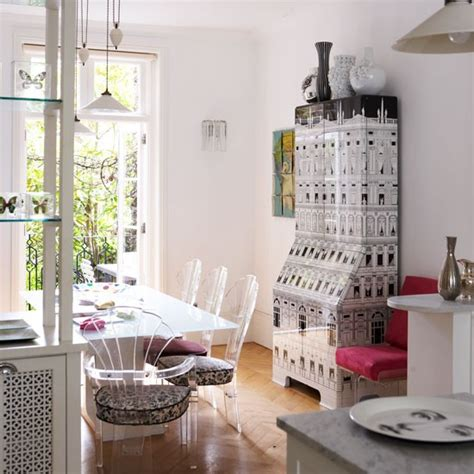 Decorating Ideas For Terraced Houses Monochrome Dining Room Decorating Ideas From Lulu