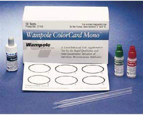 mono test alere mono test kit save at tiger inc