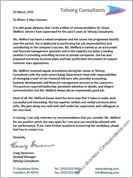 Reference Letter For A Seeker reference letter businessletter business letters