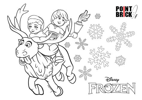 coloring pages lego frozen disegni da colorare lego disney princess frozen anna