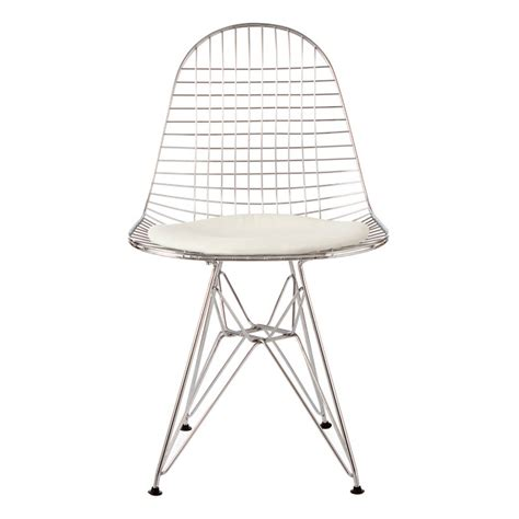 Wire Mesh Chair by Chair Metal Eames Style Dkr Wire Mesh Chair By Ciel