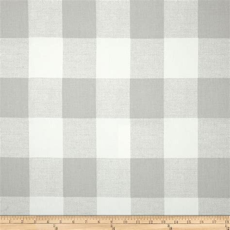 French Grey Valance Light Grey And White Check Window