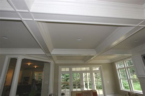 coffered ceiling ideas coffered ceiling molding design build pros