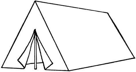 tent template quot a quot tent clipart etc