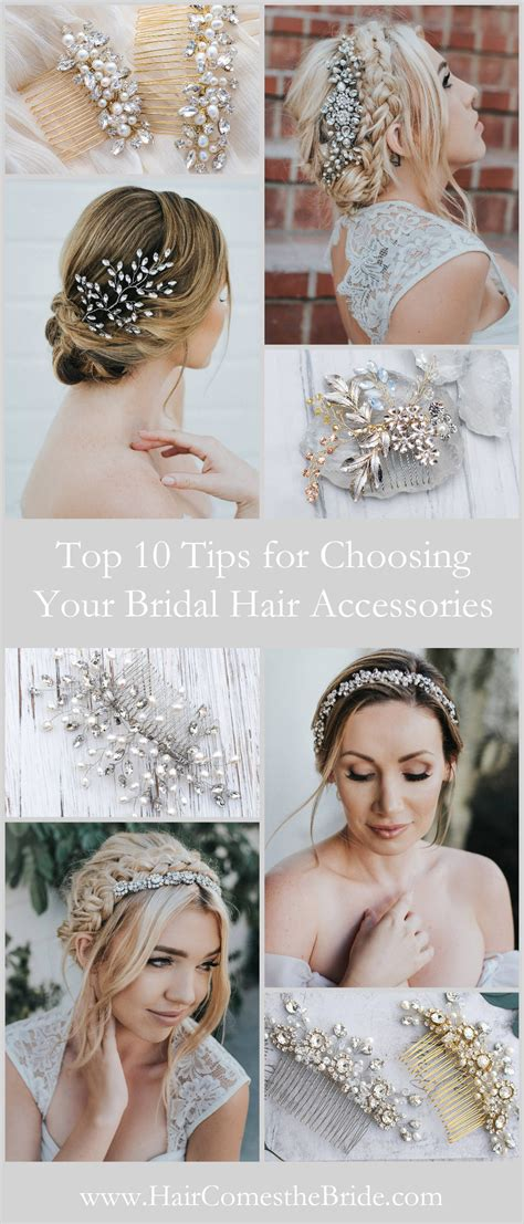top 10 for choosing your bridal hair accessories hair comes the