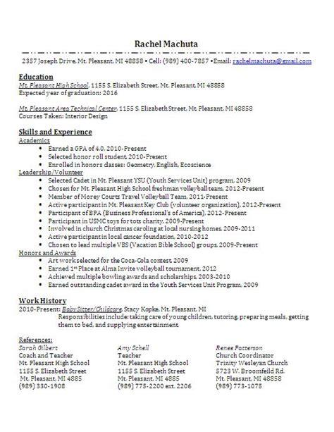 major on resume career documents machuta portfolio