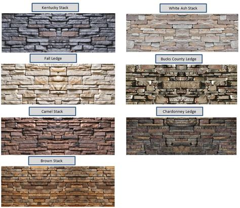 popular colors finishes stone exterior finishes stone color options for the