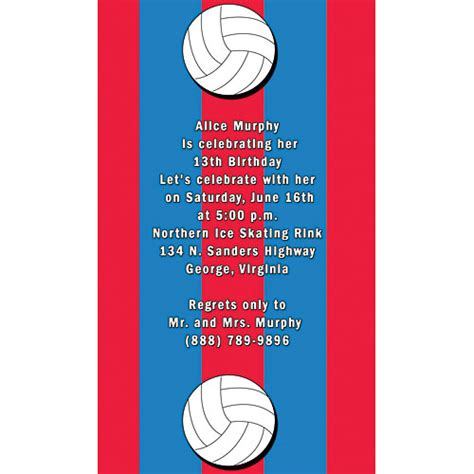 printable volleyball invitations volleyball party ideas creative party themes and ideas