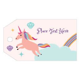 Free Themed Birthday Printables Avery Com Unicorn Label Template