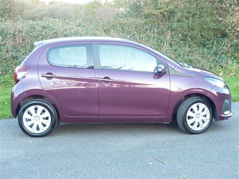peugeot 108 used cars used purple berry peugeot 108 for sale cheshire