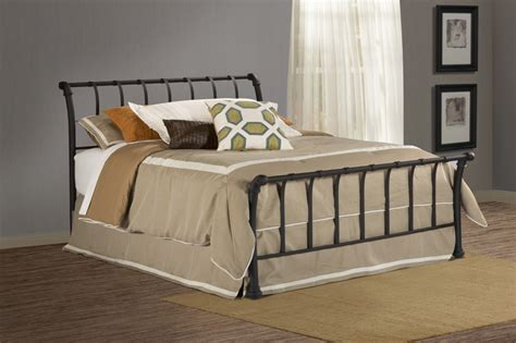 iron sleigh bed hillsdale 1655bqr janis wrought iron sleigh bed worthy