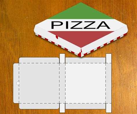 pizza box template blank pizza box template by danbradster on deviantart