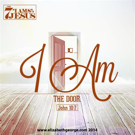 I Am The Door Of The Sheep by Bible Scripture Most Assuredly I Say To You I Am The
