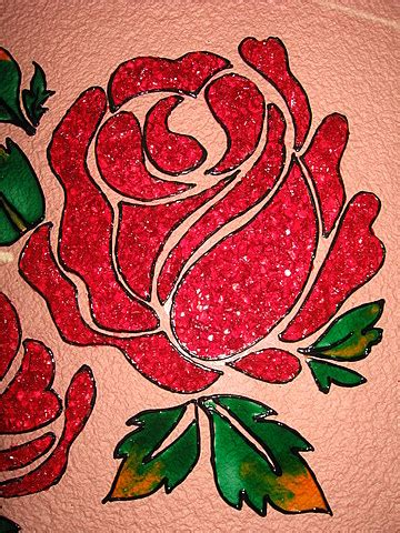flower design for glass painting crystal glass painting beautiful red roses calligraphy