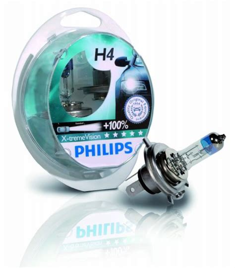 Lu Philips Blue Vision H4 philips h4 x treme vision automotive bulb pack 12342xvs2 price review and buy in dubai