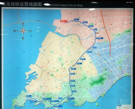 map of qingdao urbanrail net gt asia gt china gt qingdao metro