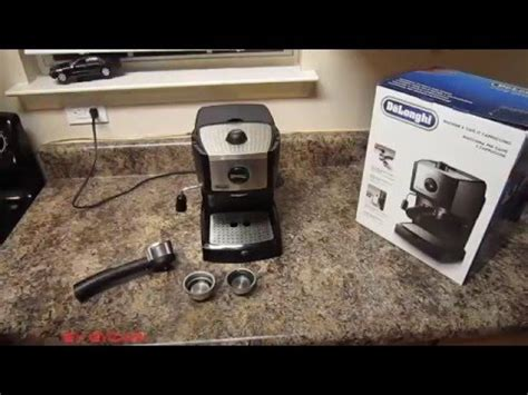 espresso maker how it works delonghi ec155 espresso maker how it works