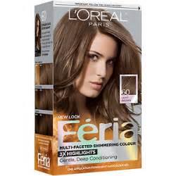 60 hair color l oreal paris feria permanent haircolor light brown 60