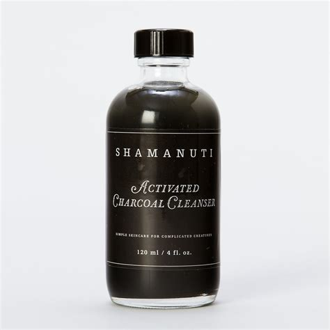 Detox Charcoal Wash Coconut by Activated Charcoal Cleanser