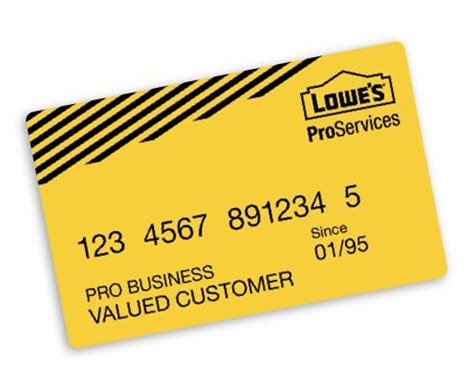 Lowes Business Card