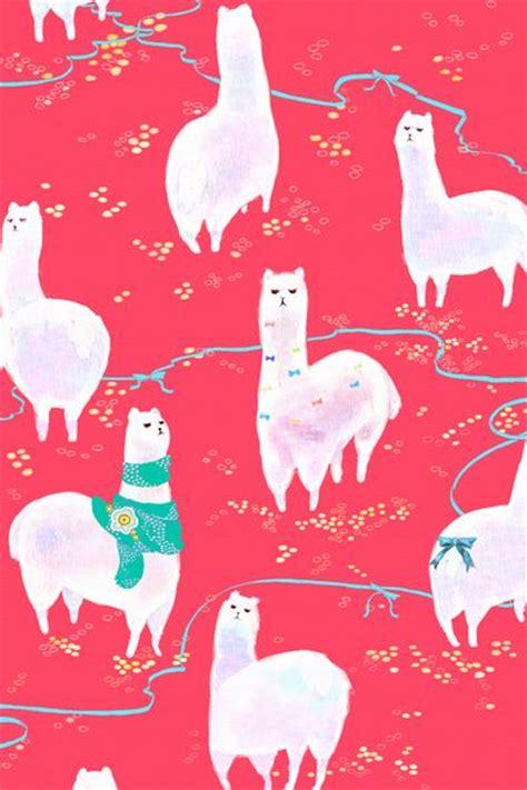 Cute Llama Pattern | pink patterns patterns and llama llama on pinterest