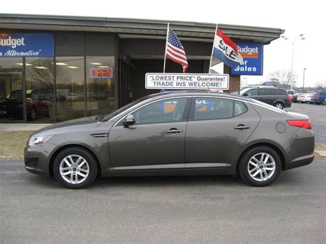 kia cedar rapids 2011 kia optima for sale in cedar rapids ia 10757224