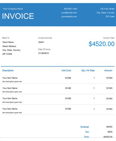 electrical invoice template 183 charla
