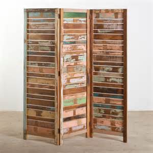 Reclaimed Wood Room Divider Buy Low Price Cg Sparks Reclaimed Wood 3 Panel Screen Room Divider Mart