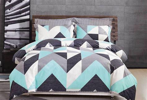 Aqua Quilt King by 100 Cotton Aqua Quilt Cover Set King Doona