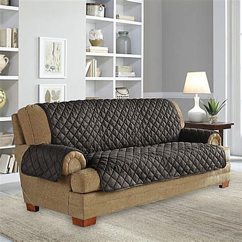 perfect fit upholstery perfect fit 174 waterproof sofa protector www