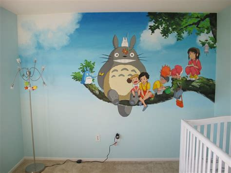 totoro room gives s room a my totoro twist sgcafe