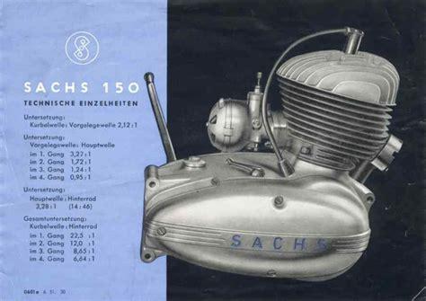 Sachs Motor Vergaser Einstellen by Sachs