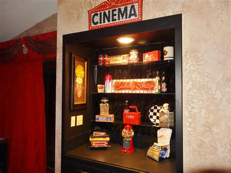 snack bar concession theater room  room home